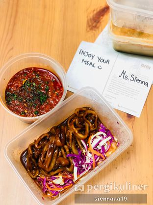 Foto 2 - Makanan(cumi sambal oelek) di Gioi Asian Bistro & Lounge oleh Sienna Paramitha