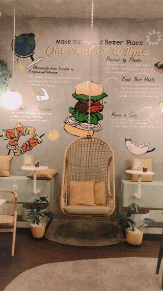 Foto Interior di Burgreens Eatery