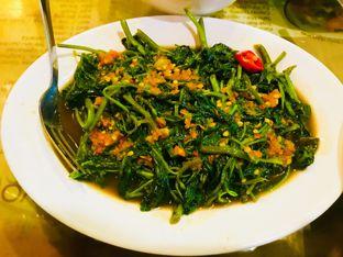 Foto 5 - Makanan(Kangkung Tauco Pedas) di Makassar Seafood Pelangi oleh Levina JV (IG : levina_eat )
