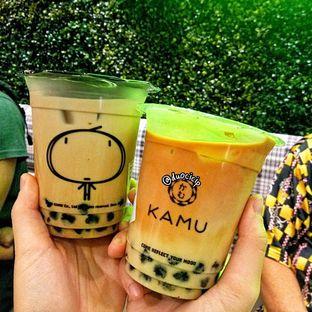 Foto 1 - Makanan(Kamu Milk Tea & Thai Milk Tea) di Kamu Tea oleh duocicip