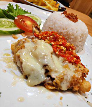 Foto 1 - Makanan(Ayam Geprek Mozarella) di Pasta Kangen oleh Nathania Kusuma