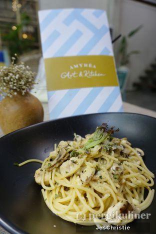 Foto 9 - Makanan(Aglio Olio) di Amyrea Art & Kitchen oleh JC Wen