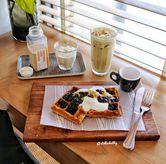 Foto Boba waffle di Woodpecker Coffee