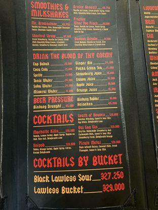 Foto 2 - Menu di Lawless Burgerbar oleh Levina JV (IG : @levina_eat & @levinajv)