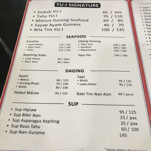 Foto 2 - Menu di Yu-I Kitchen oleh Novi Ps