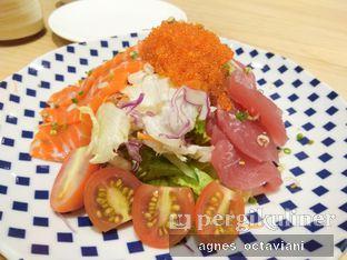 Foto 1 - Makanan(Maguro + Salmon Salad with Wasabi Dressing) di Nama Sushi by Sushi Masa oleh Agnes Octaviani