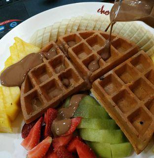 Foto - Makanan(Chocola Waffle) di Chocola Cafe oleh Adelia Rakhmawati