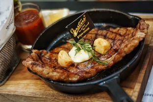 Foto 1 - Makanan(US Black Angus Rib Eye) di Justus Steakhouse oleh Fadhlur Rohman