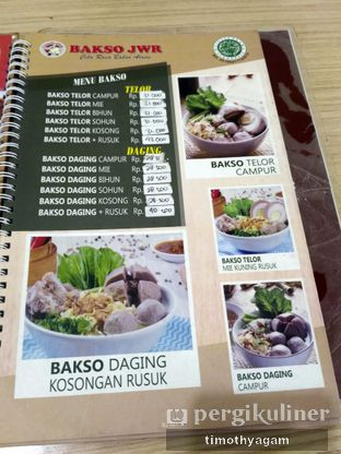 Foto 6 - Menu di Bakso JWR oleh Kuliner Sama Agam