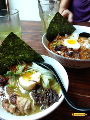 Foto 1 - Makanan di Yoisho Ramen oleh abigail lin