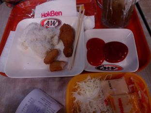 Foto 2 - Makanan di HokBen (Hoka Hoka Bento) oleh Cindy Anfa'u