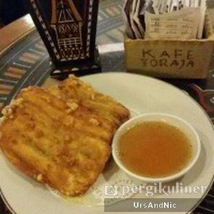 Foto 1 - Makanan(Pisang goreng saus caramel) di Tator Cafe oleh UrsAndNic