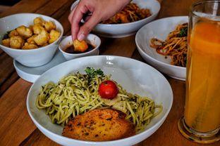 Foto 4 - Makanan(Creamy Mushroom Pesto ) di The H Cafe oleh Fadhlur Rohman