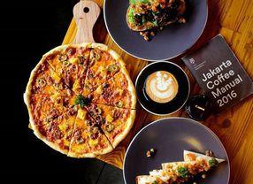 8 Cafe di Jakarta Dengan Pizza Paling Enak dan Favorit