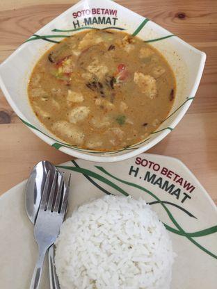 Foto 2 - Makanan di Soto Betawi H. Mamat oleh Serenata Kedang