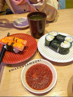 Foto 1 - Makanan di Genki Sushi oleh @makansamaoki