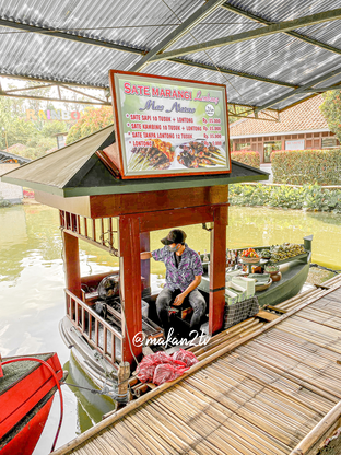 Foto review Sate Marangi Lembang Mas Narno - Floating Market oleh Makan2 TV Food & Travel 5