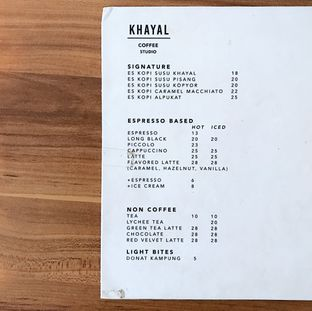 Foto 5 - Menu di Khayal Coffee Studio oleh Della Ayu
