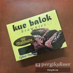 Foto review Kue Balok Brownies Mahkota oleh Tiny HSW. IG : @tinyfoodjournal 2