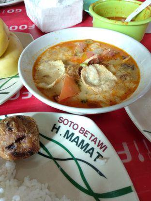 Foto - Makanan di Soto Betawi H. Mamat oleh abigail lin