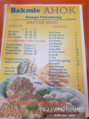 Foto 6 - Menu di Bakmi Ahok Dempo Palembang oleh William Wilz