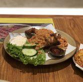 Foto Ayam Kremes di Sate Khas Senayan