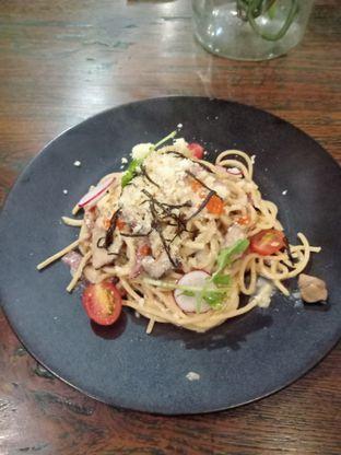 Foto 3 - Makanan(Wafuu Carbonara Pasta) di Onni House oleh Florentine Lin