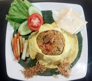 Foto 2 - Makanan(Saute Special Fried Rice (IDR 36,800 - Nett)) di Saute Family Resto oleh Rinni Kania