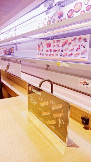 Foto 4 - Interior di Genki Sushi oleh IG: biteorbye (Nisa & Nadya)