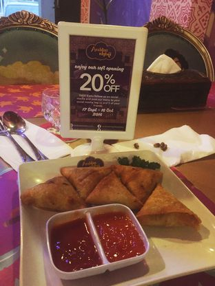 Foto 1 - Makanan di Arabian Nights Eatery oleh Antonius Kuncorojati