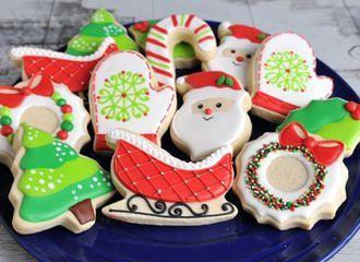 5 Bahan yang Paling Sering Dijadikan Penghias Kue Kering Natal