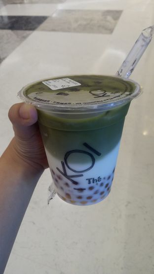 Foto 1 - Makanan(Matcha latte) di KOI Cafe oleh Jocelin Muliawan