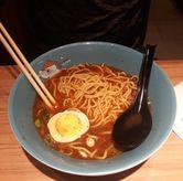 Foto Beef Teriyaki Ramen (udah dicampur saus n dimakan sebagian 😅) di Ichiban Sushi