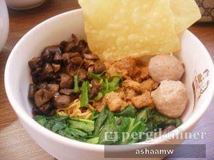 Foto 1 - Makanan(Mie Yamin Ayam Jamur Bakso) di Mie & You oleh Asharee Widodo