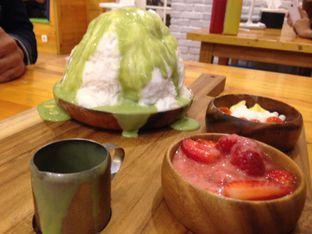Foto 7 - Makanan(snow ice greentea) di Fat Bubble oleh Almira  Fatimah