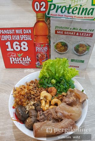 Foto 2 - Makanan di Pangsit Mie & Lemper Ayam 168 oleh William Wilz