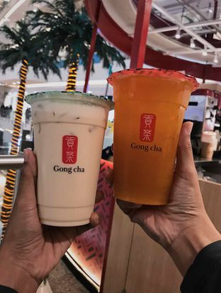 Foto review Gong cha oleh Fitriah Laela 1