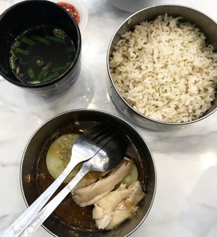 Foto 3 - Makanan(Singapore Hainan Chicken Rice) di UNCLE K oleh @makankudiary (by tamy)