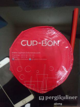 Foto 6 - Makanan(Cincau Taro Caramel) di Cup Bon oleh #alongnyampah