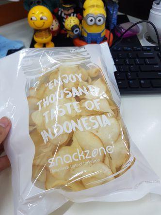Foto Makanan di Snack Zone