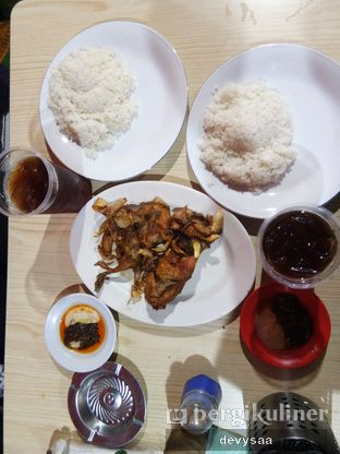 Foto 2 - Makanan di Warung Ayam Afrika oleh Slimybelly