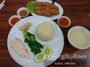 Foto 3 - Makanan(Nasi Hainan ayam garam dan lumpur udang) di Glaze Haka Restaurant oleh Marisa @marisa_stephanie