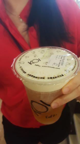 Foto 2 - Makanan(Green Tea Macchiato) di KOI Cafe oleh Budi Lee