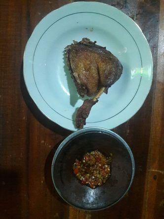 Foto Makanan di Bebek Goreng H. Slamet