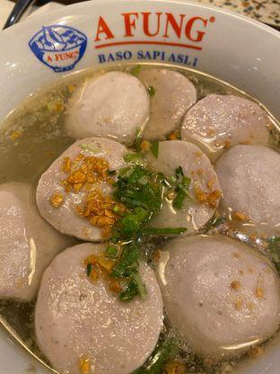Foto 3 - Makanan di A Fung Baso Sapi Asli oleh Duolaparr