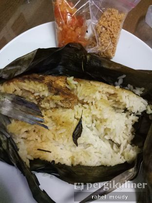 Foto 1 - Makanan di Nasi Bakar Bu Tuti Sundari oleh Rahel Moudy
