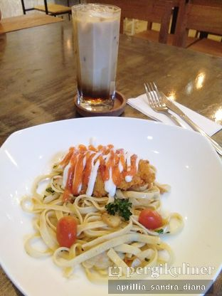 Foto 3 - Makanan(Spicy Dory Fettuccine) di Artivator Cafe oleh Diana Sandra