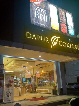 Foto Eksterior di Dapur Cokelat