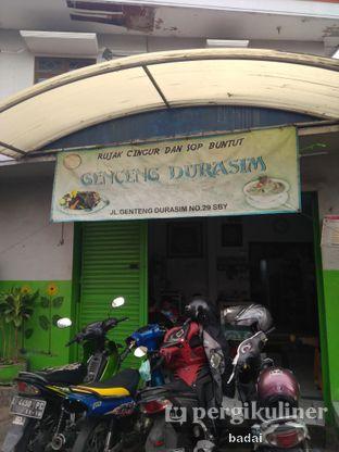 Foto 1 - Eksterior di Rujak Cingur dan Sop Buntut Genteng Durasim oleh Winata Arafad
