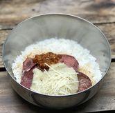 Foto Lidah saus keju di Dianti Daily Rice Bar